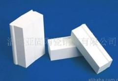 微晶耐磨氧化铝衬砖的图片