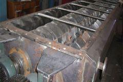 含油污泥(炼油厂污泥)空心桨叶干燥设备的图片