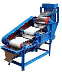 筒輥式磁選機,一級除機械鐵,二級除氧化鐵的圖片