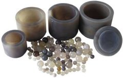 行星球磨仪 玛瑙球磨罐的图片