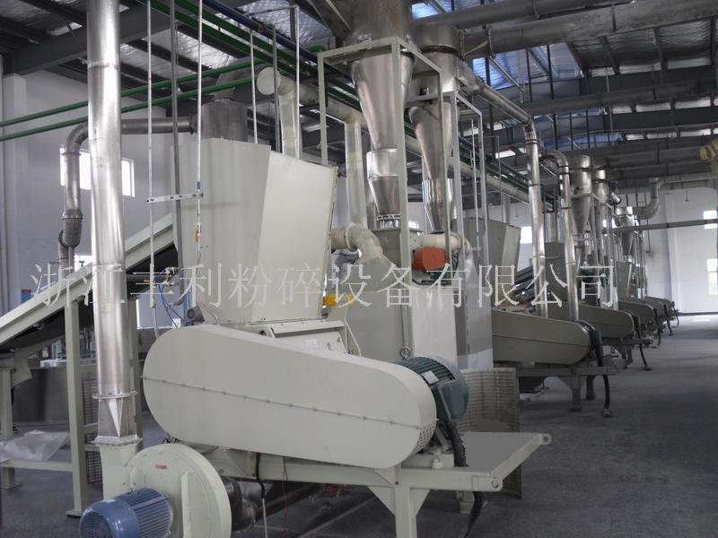 精制棉及其棉纤维粉体加工生产线的图片