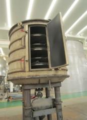 时产100公斤氢氧化锰盘式干燥机成套设备的图片