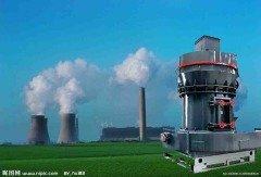 大型火力发电厂磨煤机的图片