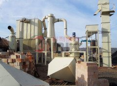 铝矾土微粉磨粉机的图片