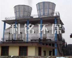 小型焦化廠噴淋式脫硫水膜除塵器