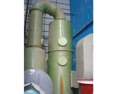 小型立式燃煤鍋爐脫硫除塵器