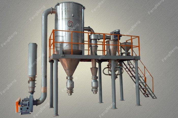 氧化铈、氧化镧粉碎机的图片