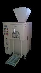 氧化铁红铁酞绿群青阀口抽气式粉颗体定量称重包装机灌装机打包机装袋机包装秤的图片
