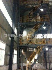 氯化法钛白粉工程1.5m氯化喷雾干燥机的图片