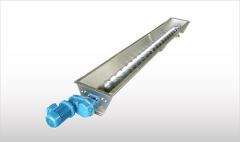 不锈钢槽式螺旋输送机 - CX