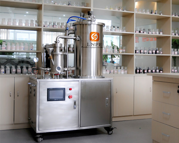 实验室粉碎机,气流磨的图片