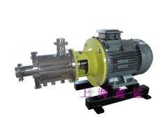不銹鋼管線式剪切分散均質乳化泵機