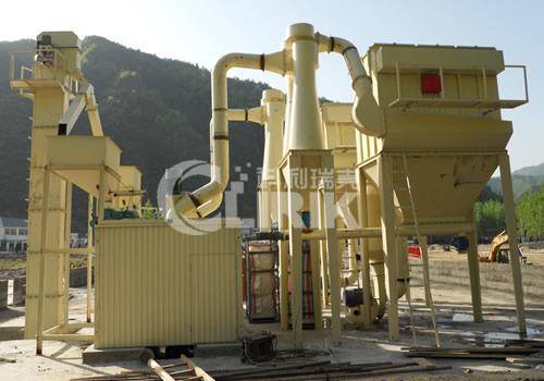 膨润土磨粉机—矿石超细磨粉机图片