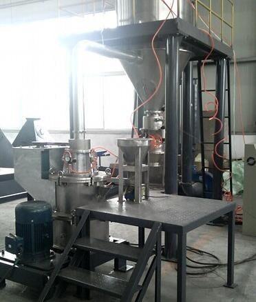 粉煤灰专用超微粉碎分级系统的图片