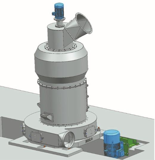 YF158纵摆式磨粉机的图片