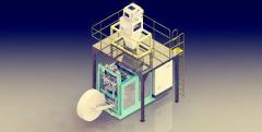 FFS聚乙烯重膜包装机1600包/时的图片