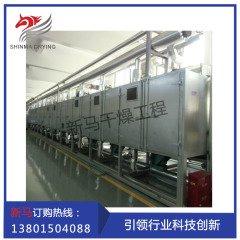 常州新马干燥 活性炭网带干燥机组 网带式干燥设备的图片