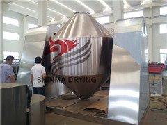 200L容积双锥回转真空喷雾干燥机--常州新马制造的图片