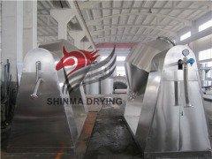 SZG-1000型双锥真空干燥机 滚筒干燥机--常州新马干燥的图片