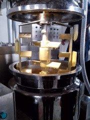 沙拉酱真空均质乳化机的图片