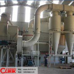 时产量100吨石子破碎设备 10吨矿石磨粉设备 整套磨粉生产线的图片