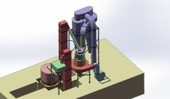瀑流式磨粉機 礦石磨粉機
