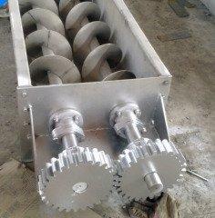 双轴螺旋输送机的图片