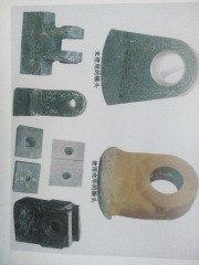 各種球磨機襯板,破碎機鄂板配件,高錳鋼,高鉻合金等耐磨合金鑄件