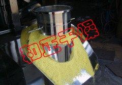 干粉混和、湿粉混合物料专用旋转式制粒机 自动出料的图片