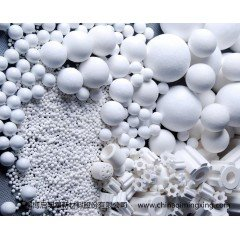 氧化铝球  微晶耐磨老人还能活多久氧化铝球 研磨用山东氧化铝球直供