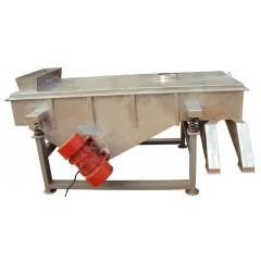 碳酸钙不锈钢直线振动筛-新乡华维机械