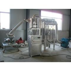 中药材微粉碎机组  不锈钢WFJ-18型黄芪三七超细粉碎机设备的图片