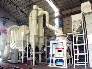 导撞式超细磨粉机的图片