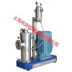 磷酸铁锂电池浆料研磨分散机,三元锂电池浆料研磨分散机的图片