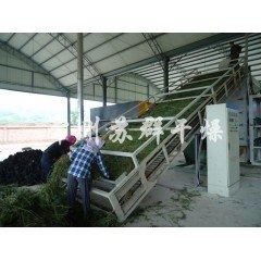 牧草带式烘干机,苜蓿草网带烘干机的图片