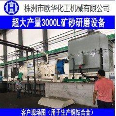 超大产量3000L矿用研磨机的图片