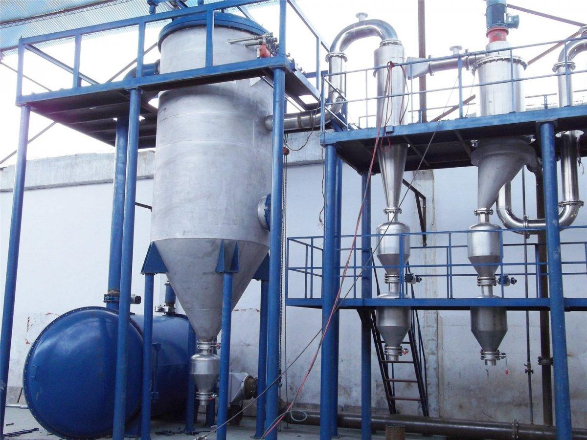 惰性气体保护气流粉碎分级机的图片