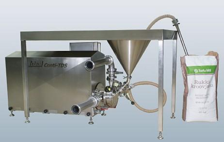 食品级连续式粉料传输分散系统的图片