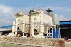 磨粉机厂绢云母 、碳酸锰、重钙超细磨粉机的图片