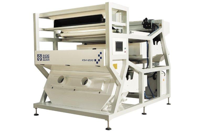 谷鑫1公分到3公分石英石专用色选机每小时10吨以上大产量机型的图片