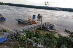 氣力輸送裝船系統