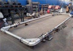 鎳粉不銹鋼管鏈機、白土管鏈輸送機無塵環保