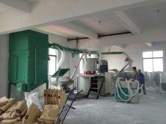 高速混合機組除塵系統 PVC樹脂粉集中供料系統