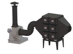 ZM系列高負壓真空吸塵系統