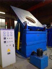 900℃井式液壓傾翻熔化爐
