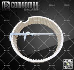 99.9%氧化鋁齒圈