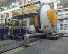 卧式真空碳化炉