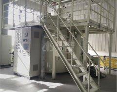 立式真空碳化炉