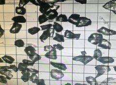 綠碳化硅微粉 1000#顆粒形狀