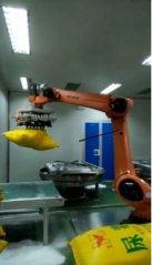 机器人开袋站